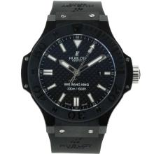 Hublot Big Bang Re Cronografo Asia Valjoux 7750 Movimento Cassa In Ceramica Con Fibra Di Carbonio Stile Dial