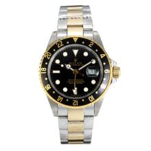 Rolex GMT-Master II Automatic Two Tone Con Quadrante Nero