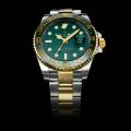 Rolex GMT-Master II Automatic Two Tone Verde Lunetta In Ceramica Con Green Dial (Gift Box è Inclusa)