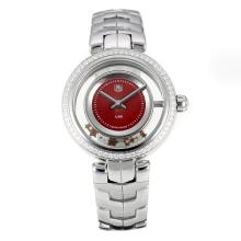 Tag Heuer Link Con Red Dial S / S