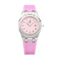 Audemars Piguet Lady Reale Con I Pink Dial-vetro Zaffiro-rosa Cinturino In Gomma