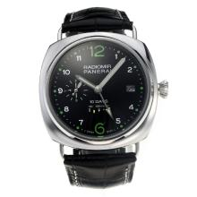 Panerai Radiomir 10 Days Power Reserve Automatico Con Cinturino Dial-Leather