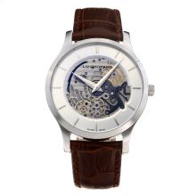 Chopard LUC Con White Strap Dial-Leather