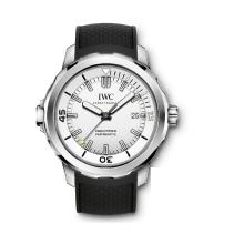 IWC Ingenieur Automatico Con Quadrante Bianco-Leather Strap