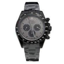 Rolex Daytona II Automatic Full PVD with Gray Dial