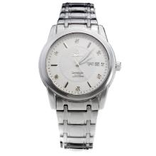 Omega Constellation Automatic with White Dial S/S