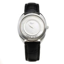 Chopard Happy Sport with MOP Dial-Leather Strap