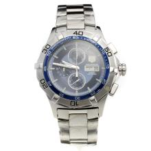 Tag Heuer Aquaracer Working Chronograph with Blue Dial S/S