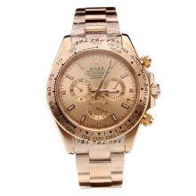 Rolex Daytona II Automatic Full Rose Gold with Champagne Dial-Sapphire Glass