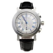Breguet Marine No.4118 Working Chronograph with White Dial-Roman Markings