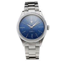 Rolex Cellini Automatic with Blue Dial S/S-2