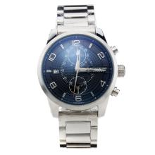 Montblanc Time Walker Automatic Black Dial S/S