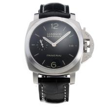 Panerai Luminor Marina Swiss Valjoux 7750 Movement with Black Dial--40MM