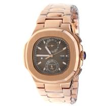Patek Philippe Nautilus Automatic Full Rose Gold with Brown Dial