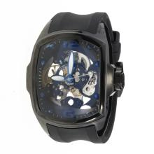 Corum Automatic PVD Case with Skeleton Dial-Rubber Strap-1