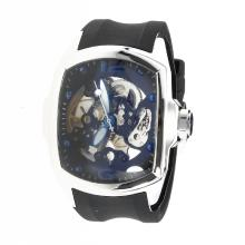 Corum Automatic with Skeleton Dial-Rubber Strap-3