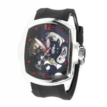Corum Automatic with Skeleton Dial-Rubber Strap-1
