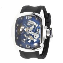 Corum Automatic with Skeleton Dial-Rubber Strap