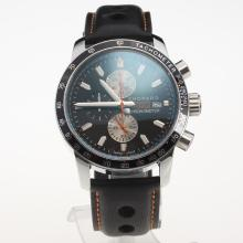 Chopard Grand Prix De Monaco Historique Working Chronograph with Black Dial-Leather Strap