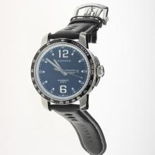 Chopard Grand Prix De Monaco Historique with Black Dial-Leather Strap