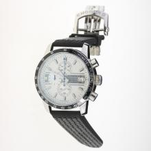 Chopard Grand Prix De Monaco Historique Working Chronograph with White Dial-Rubber Strap