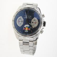 Tag Heuer Carrera RedBull Racing Edition Working Chronograph with Black Dial S/S