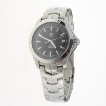 Tag Heuer Link Swiss ETA 2824 Movement with Black Dial S/S