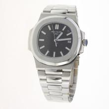 Patek Philippe Nautilus MIYOTA 9015 Automatic Movement with Black Dial S/S