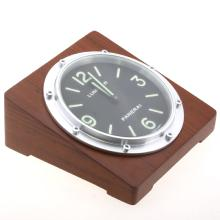 Panerai Luminor Desk Clock with Black Dial