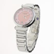 Cartier Classic with Pink Dial S/S