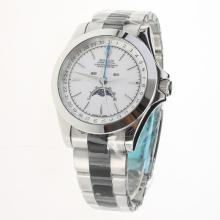 Rolex Oyster Perpetual with White Dial S/S