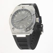 IWC InGenieur Working GMT Automatic with Gray Dial-Rubber Strap