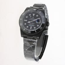 Rolex Submariner Pro-hunter Swiss ETA 2836 Movement Full PVD Ceramic Bezel with Black Dial