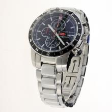 Chopard Miglia Working Chronograph with Black Dial S/S