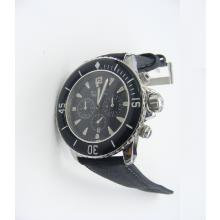 Blancpain Fifty Fathoms Working Chronograph White Markers with Black Dial-Nylon Strap