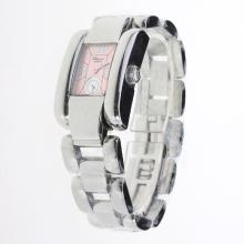 Chopard Las Strada with Pink Dial S/S-Lady Size