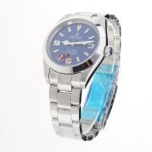Rolex Explorer Automatic with Blue Dial S/S