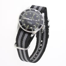 Rolex Submariner Automatic Black Dial with Nylon Strap-Vintage Edition-7