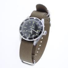 Rolex Submariner Automatic Black Dial with Nylon Strap-Vintage Edition-5