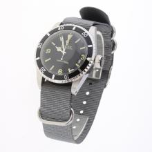 Rolex Submariner Automatic Black Dial with Nylon Strap-Vintage Edition-1