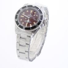 Rolex Submariner Automatic with Brown Dial S/S-Vintage Edition-1