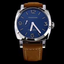 Panerai Radiomir Automatic with Black Dial-Leather Strap-2