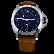 Panerai Radiomir Automatic with Black Dial-Leather Strap-1