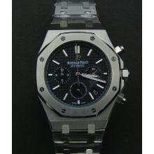 Audemars Piguet Royal Oak Working Chronograph Stick Markers with Black Dial S/S