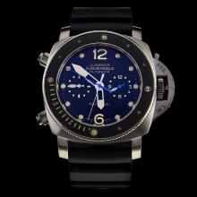 Panerai Lumior Submersible Automatic with Black Dial-Rubber Strap-1