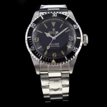 Rolex Submariner Swiss ETA 2836 Movement with Black Dial S/S-Vintage Editioin-2