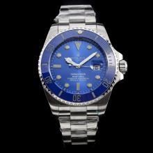 Rolex Submariner Automatic with Blue Ceramic Bezel and Dial S/S