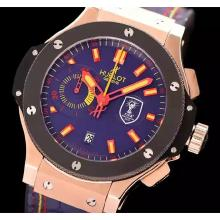 Hublot Big Bang King Swiss Valjoux 7750 Movement Rose gold case