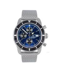 Breitling Super ocean Heritage Chrono Swiss Valjoux 7750 Movement with blue Dial 28800bph