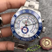 Rolex Yachtmaster II Swiss ETA 7750 Movement  Ceramic Bezel with White Dial